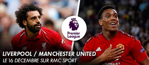 Premier League - LIVERPOOL / MANCHESTER UNITED